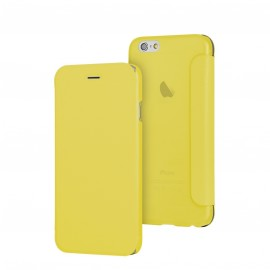 Etui iphone 6/6s folio jaune