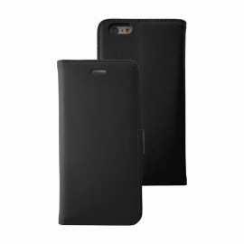 Etui iphone 6 plus / 6s plus folio noir stand case