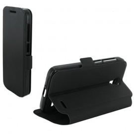 Etui Alcatel OT5042/ POP 2 Book case stand noir