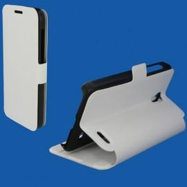 Etui Alcatel OT5042/ POP 2 Book case stand blanc