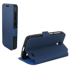Etui Alcatel OT5042/ POP 2 Book case stand bleu