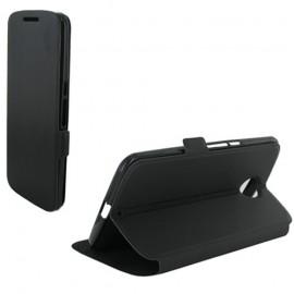 Etui Motorola Nexus 6 folio noir