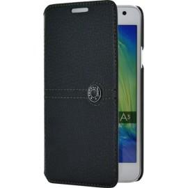 Etui Samsung Galaxy A3 A300 folio Façonnable noir