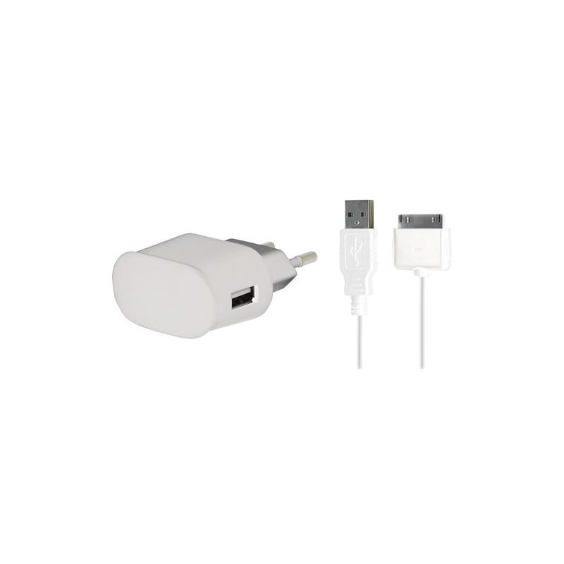 chargeur iphone 3g 3gs 4 4s et ipod touch destination telecom. Black Bedroom Furniture Sets. Home Design Ideas