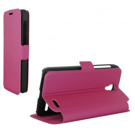 Etui Orange Roya stand fuchsia