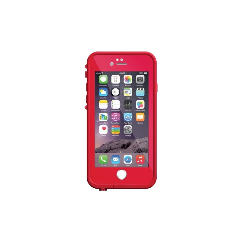 coque iphone 6 6s lifeproof rouge destination telecom. Black Bedroom Furniture Sets. Home Design Ideas