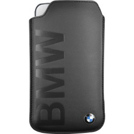 Pouch universel noir taille L BMW collection debossed