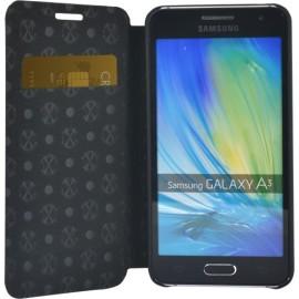 Etui Samsung Galaxy A3 A300 Folio Canvas Christian Lacroix jais
