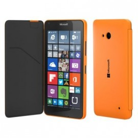 Etui Microsoft Lumia 640 folio origine orange