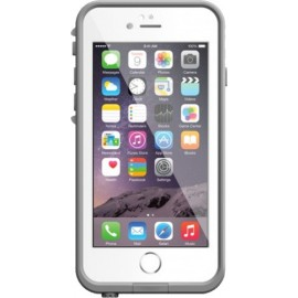 Coque iPhone 6/6s Lifeproof blanche grise