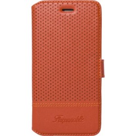 Etui iphone 6/6s Façonnable orange micro perforé