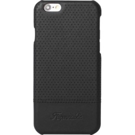 Coque iPhone 6/6S Façonnable noir micro perforée rigide