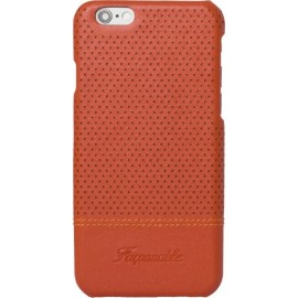 Coque iPhone 6/6S Façonnable orange micro perforée rigide