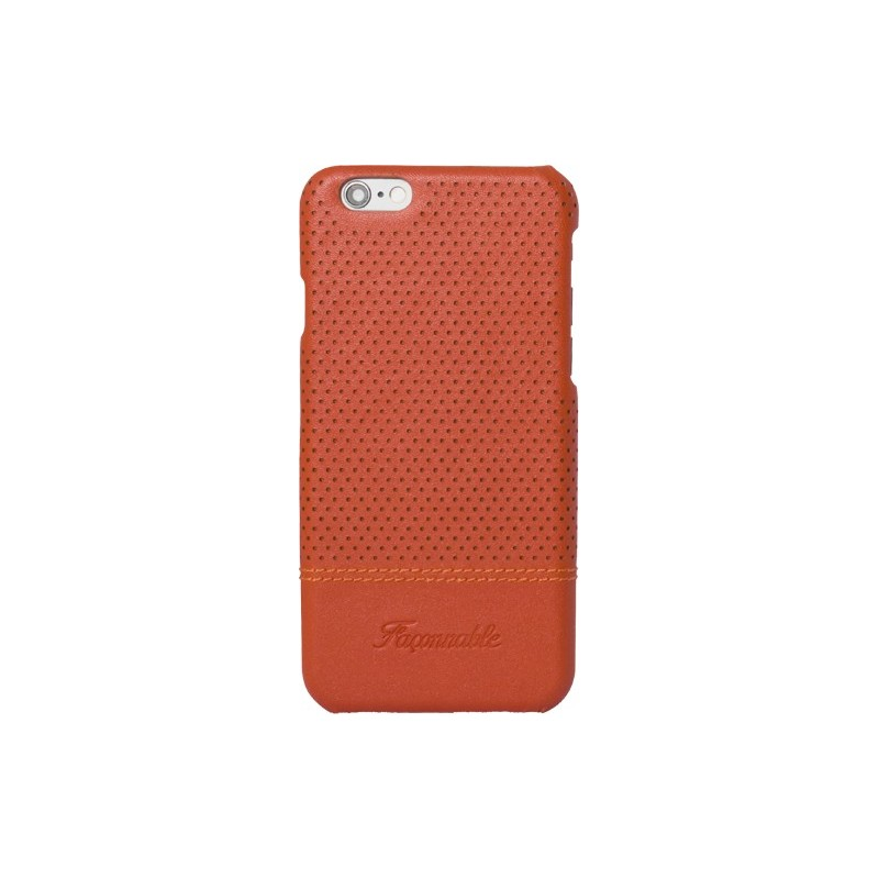 coque iphone 6 6s fa onnable orange micro perfor e rigide. Black Bedroom Furniture Sets. Home Design Ideas