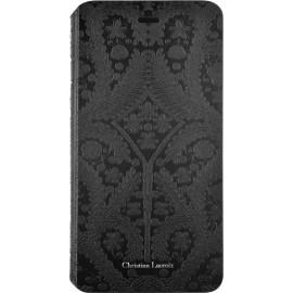 Etui iphone 6 plus / 6s plus Folio Paseo de Christian Lacroix couleur jais