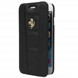 Etui iphone 6/6s folio Ferrari noir