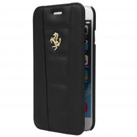 Etui iphone 6 plus / 6s plus folio Ferrari noir