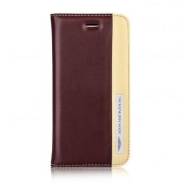 Etui iphone 6 Plus / 6S Plus Aston Martin Racing folio red cream