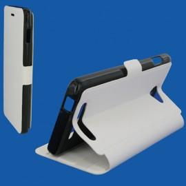 Etui Archos 50B helium 4g Book case stand blanc