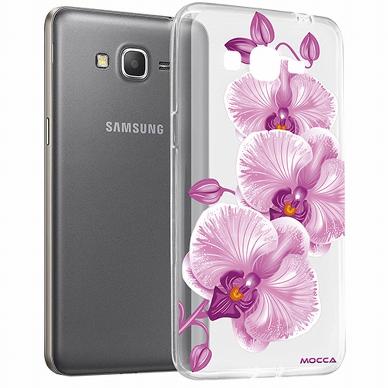 coque samsung galaxy a5 a510 2016 crystal orchid e rose destination telecom. Black Bedroom Furniture Sets. Home Design Ideas
