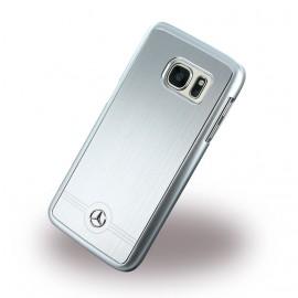 Coque Samsung Galaxy S7 G930 Mercedes aluminium grise