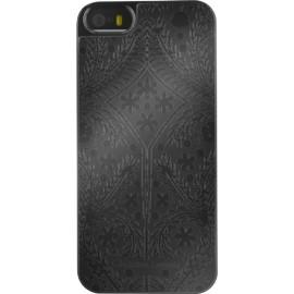 Coque iPhone 5 / 5S / SE Paseo Oro y Plata noire de Christian Lacroix