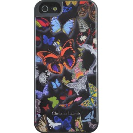 Coque iPhone 5 / 5S / SE Butterfly Parade Oscuro de Christian Lacroix