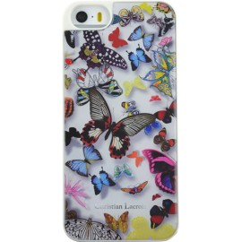 Coque iPhone 5 / 5S / SE Butterfly Parade Opaline de Christian Lacroix
