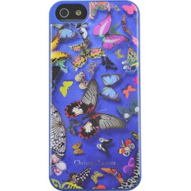 Coque iphone 5 / 5S / SE Butterfly Parade Cobalt de Christian Lacroix