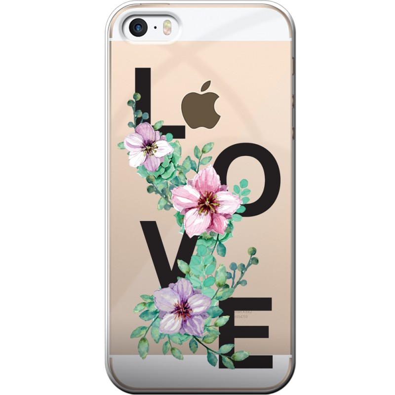 coque iphone 5 5s se rigide transparente love destination telecom. Black Bedroom Furniture Sets. Home Design Ideas