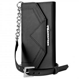 Etui iPhone 6 / 6S Karl Lagerfeld Clutch Classic noir