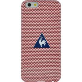 Coque iPhone 6 / 6s souple Le coq sportif rouge Motif triangles