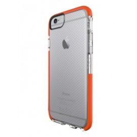 Coque iphone 6 / 6s D3O anti-impact transparente orange tech 21