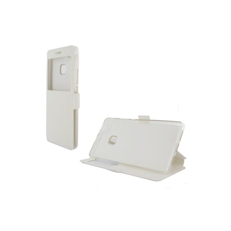 etui huawei p9 lite folio fen tre blanc destination telecom. Black Bedroom Furniture Sets. Home Design Ideas
