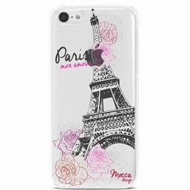 COQUE IPHONE 5 / 5S / SE CRYSTAL PARIS MON AMOUR