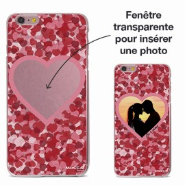 COQUE IPHONE 6 / 6S CRYSTAL COEURS