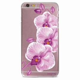 COQUE IPHONE 6 / 6S CRYSTAL ORCHIDEE ROSE