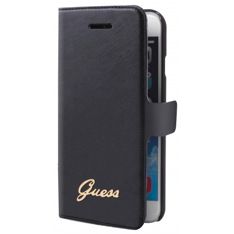 Etui iphone 6 / 6s Guess Tori noir folio