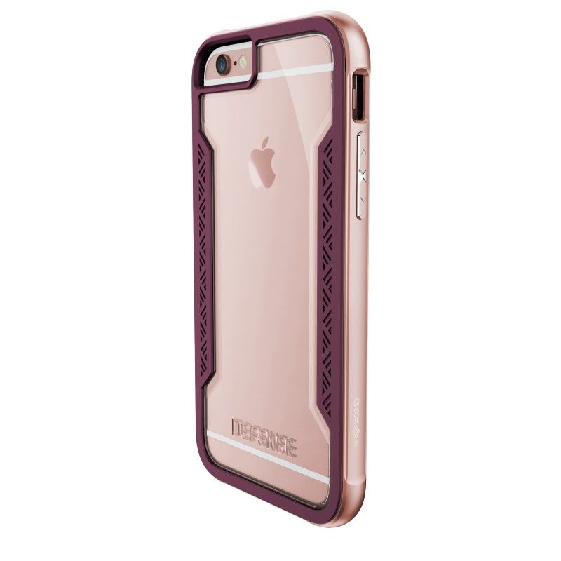 coque iphone 7 rose gold xdoria defense shield destination telecom. Black Bedroom Furniture Sets. Home Design Ideas