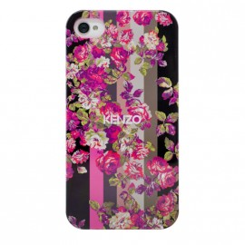 Coque iphone 4 / 4S kenzo Fleurs