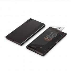 Etui folio Sony Xperia XZ Style Cover Touch Noir origine Sony