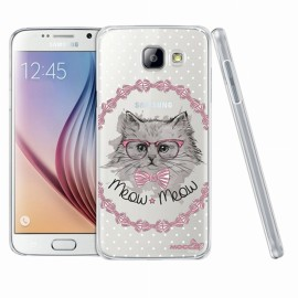 Coque Samsung Galaxy A5 A510 2016 crystal chat noeud pap