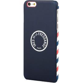 Coque iPhone 6 / 6S Ines de la Fressange Air Mail bleue