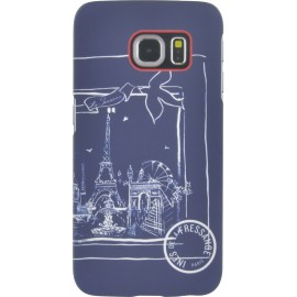 Coque Samsung Galaxy S6 edge Ines de la Fressange motif Foulard
