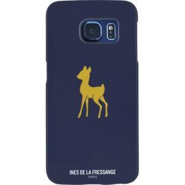 Coque Samsung Galaxy S6 Edge Ines de la Fressange motif Faon