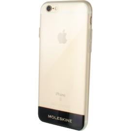 Coque iPhone 6 / 6S rigide Moleskine transparente