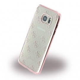Coque Samsung Galaxy S7 Edge G935 Guess Tpu rose gold