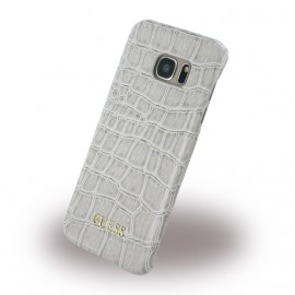 Coque Galaxy S7 Edge G935 Guess croco beige