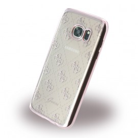 Coque Samsung Galaxy S7 G930 Guess Tpu rose gold
