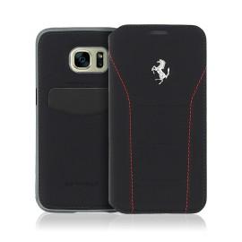 Etui Samsung Galaxy S7 G930 Ferrari 488 folio noir